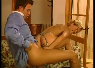 Kinky blonde cheats with her lovely boss