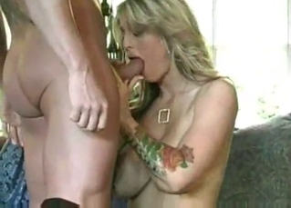 90s dick riding with a busty mature