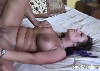 Hardcore dick ride with a sweet brunette