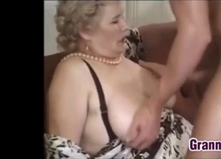 Beautiful busty mature nailed from behind