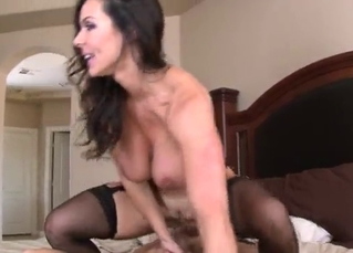 Big-boobed goddess cheats on her hubby